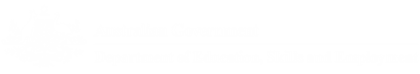 Australian Government Deperatment of Education, skills and Employment logo